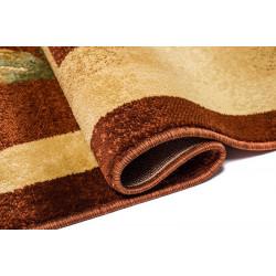 Dywan DORIAN 6615B kremowy/brązowy